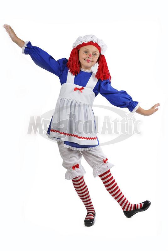 Custom Boutique Halloween Raggedy Ann Girl S Size Costume