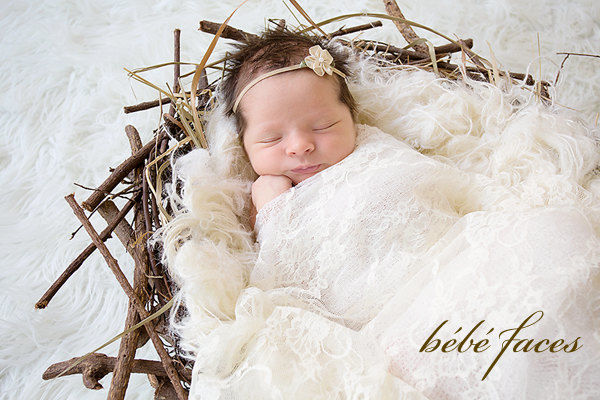 Stretch Lace Wrap Newborn Photo Prop Baby Girl Newborn Wrap Baby