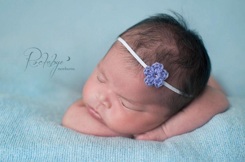 Newborn headband baby girl newborn photo prop product image