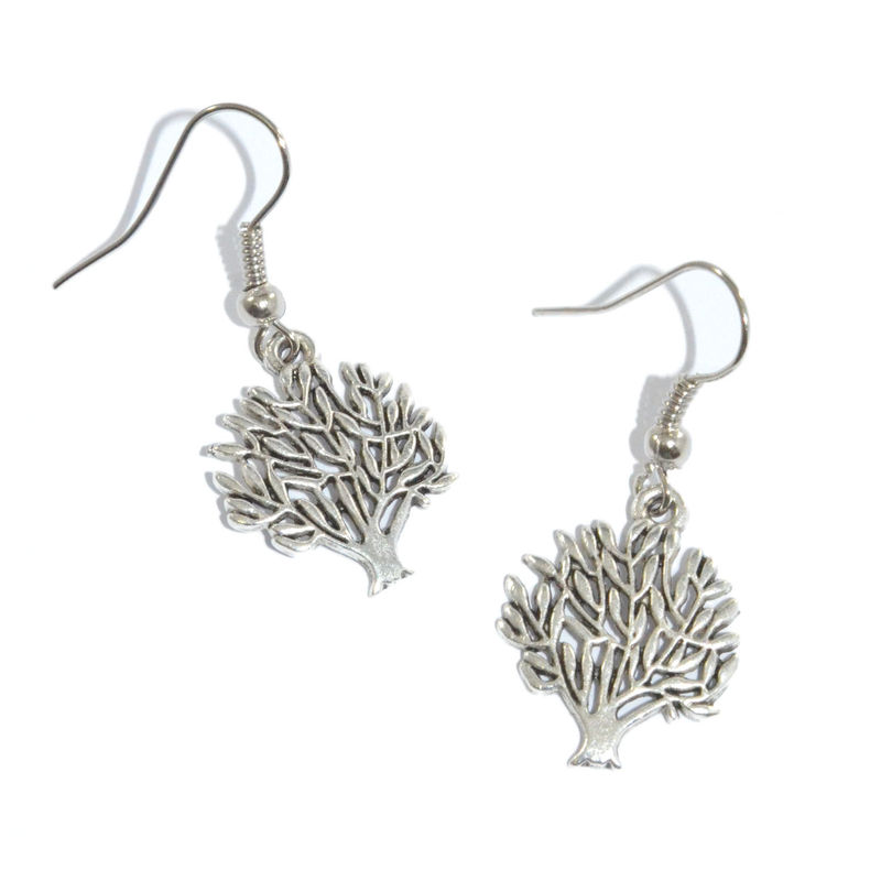 Dangling Tree Earrings Product Image