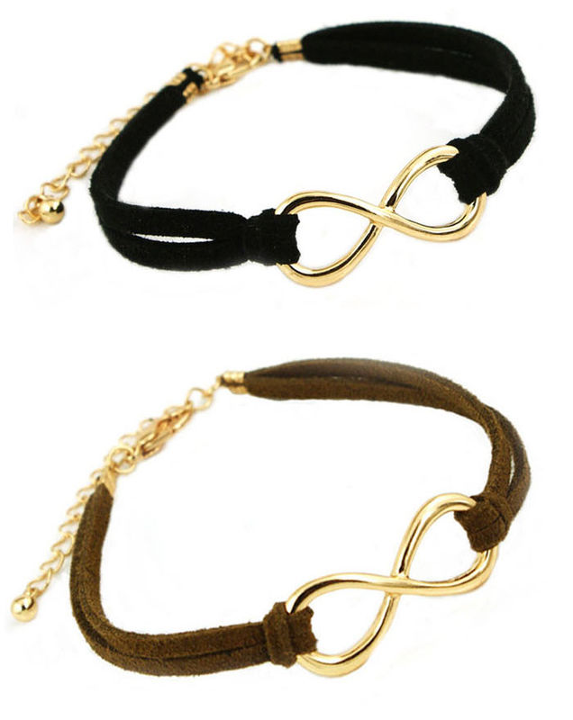 Leather Strap With Charm Bracelet