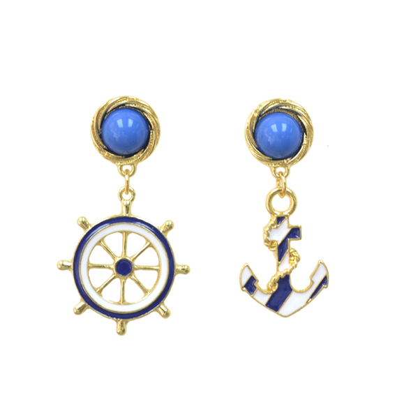 Anchor Earrings Rings Tings Online Fashion The Latest Trends