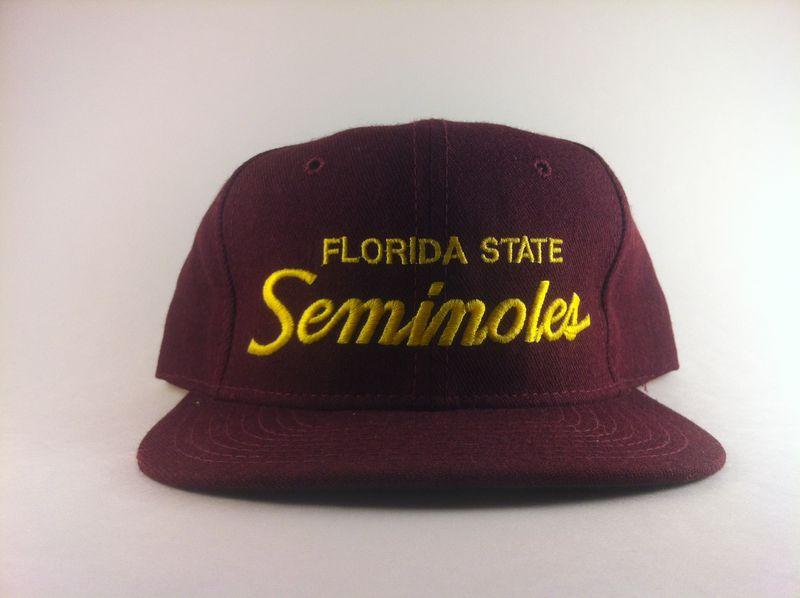4d18ffad455a68 Florida State Seminoles Sports Specialties Script - LRR Vintage