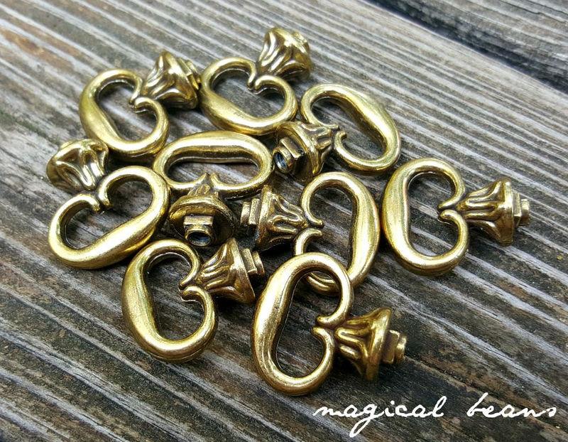 Antiqued Gold Gold Dark Brass Amp Antiqued Silver