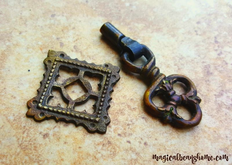 Keeler Brass Co Antique Twist Pendant Pull W Scalloped