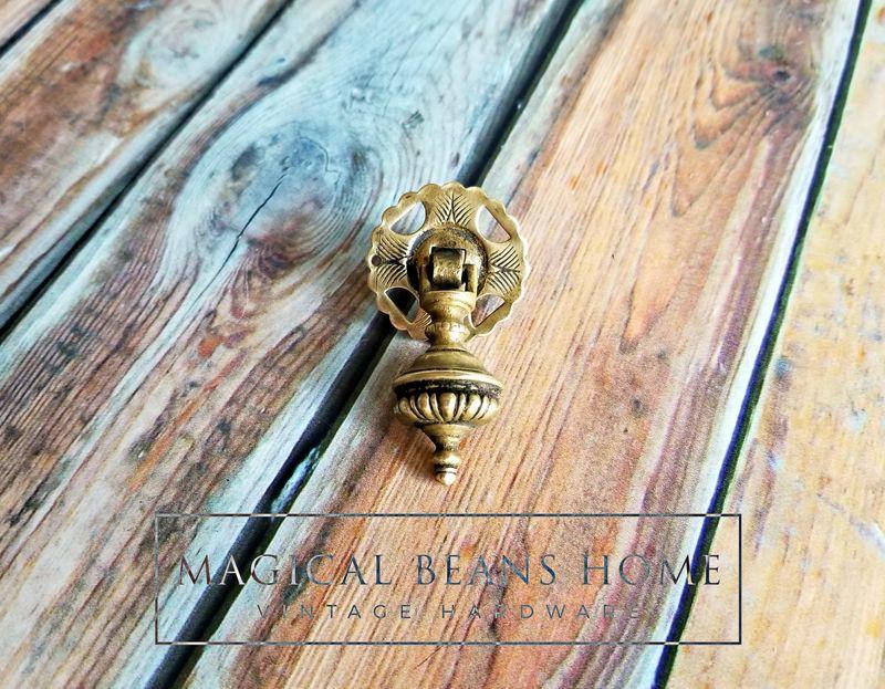 Vintage Keeler Brass Co Petite Gold W Black Patina