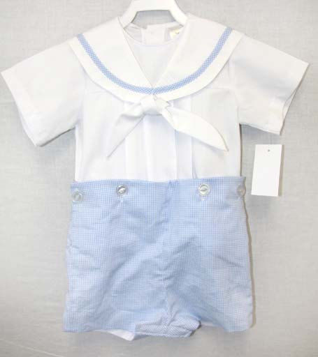 33b95484eaf Baby Boy Sailor Outfit