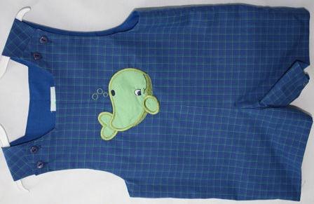 Shortalls Baby Beach Clothes Whale Baby Clothes 291363