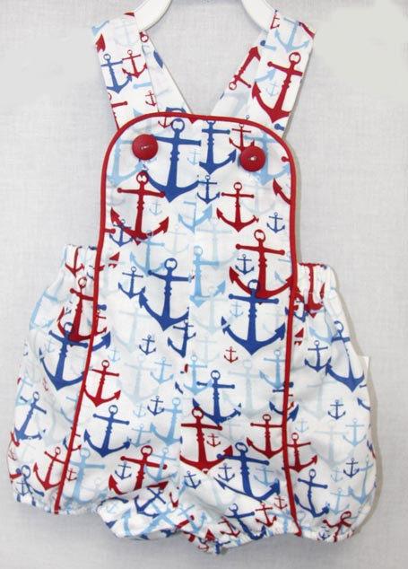 Infant Clothing Nautical Clothing Sun Suit Baby