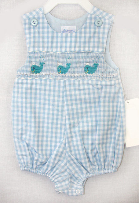 750f1fd34a13a Smocked Clothing | Shortalls | Boys Jon Jon 412171 -A172 - product images of