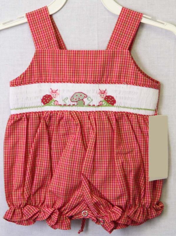 5aca478286c4 Ladybug Baby Clothes