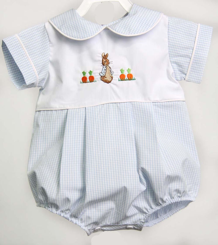 497b81957fd0 Peter Rabbit Baby Romper ~ My First Easter Outfit Boy ~ Toddler Boy ...