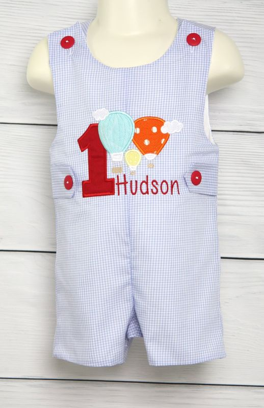 Hot Air Balloon Birthday Outfit Boy 1st Birthday Boy