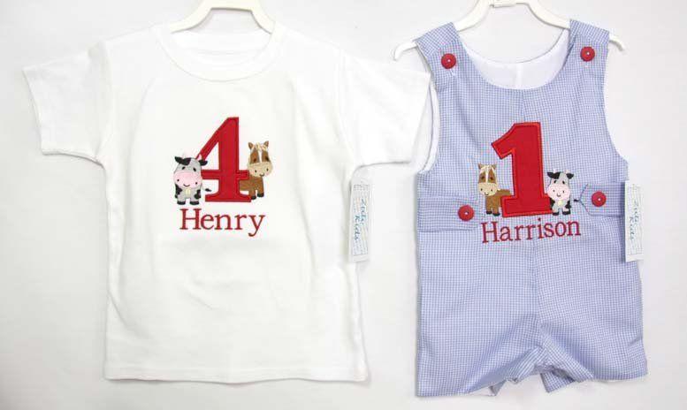 Birthday Boy Shirt Outfit Farm 292994