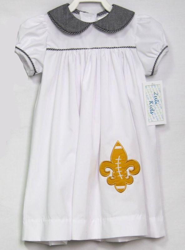 premium selection f9550 43d6c NFL New Orleans Saints Baby, Girls Football Clothes 293225
