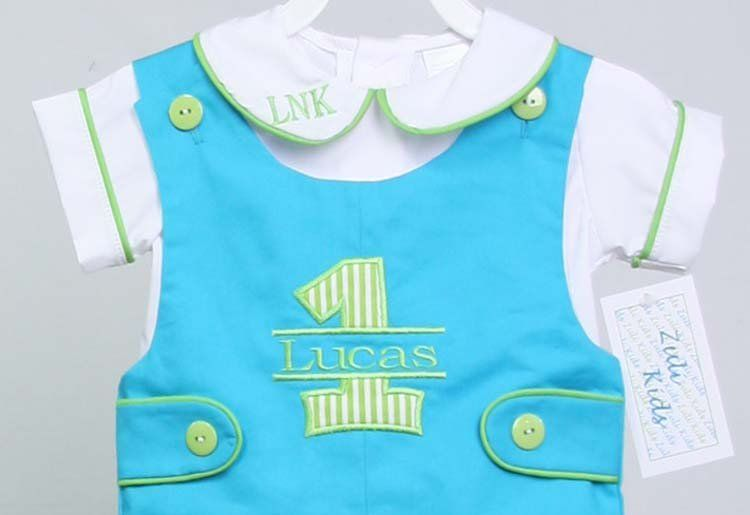 Baby Boy First Birthday Outfit Cake Smash Boys 1st 291847