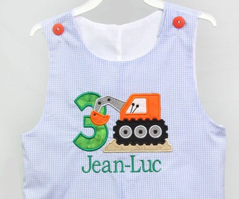 Construction Birthday Party 1st Boy Outfit One Year Old 293245
