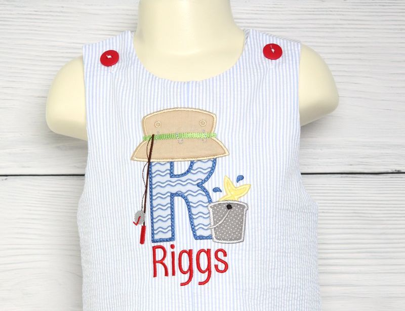 01fbef92f Baby Fishing Clothes, First Birthday Fishing Theme, Fishing First Birthday  293377 - Zuli Kids Clothing