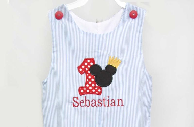 Mickey Mouse Birthday Boys First Outfit Baby Boy 1st 293326