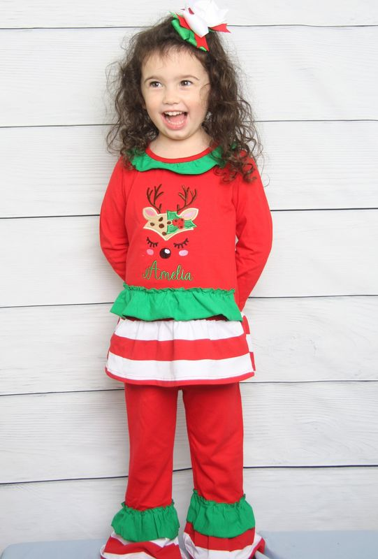 Christmas Outfit.Toddler Girl Christmas Outfit Baby Christmas Outfit Baby Girl Christmas Outfits 293719