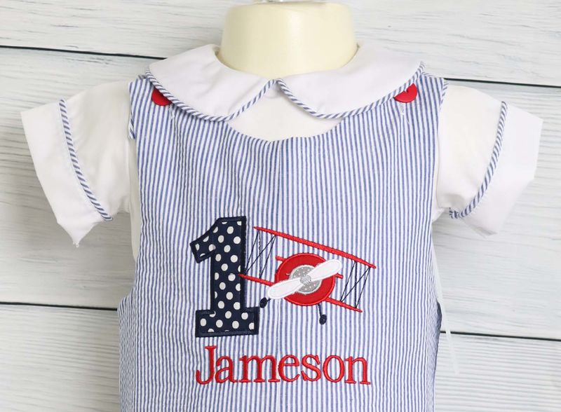 Baby Boy First Birthday Outfits 1st Outfit Airplane 292931 Long