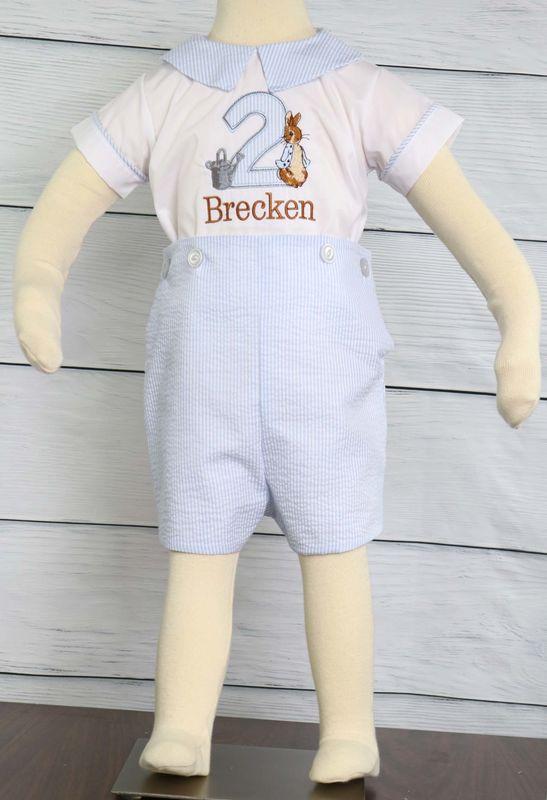 89db5dec326d1 Baby Boy First Birthday Outfits, Peter Rabbit Birthday Outfit, Peter Rabbit Birthday  Romper 293708 - Zuli Kids Clothing
