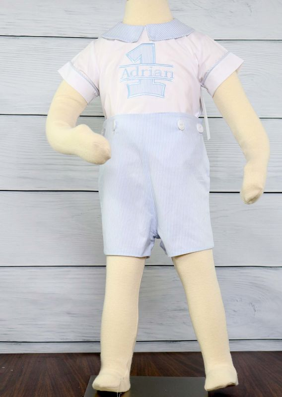1st Birthday Boy OutfitFirst First Outfit Shirt