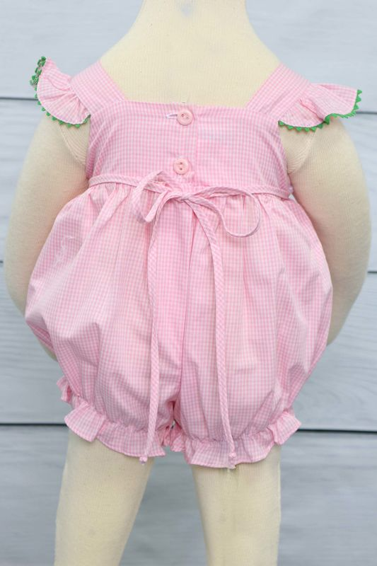 160880606 Baby Shower Gifts, Baby Shower Gift for Girl, Baby Girl Bubble Romper  412542 - BB066 - Zuli Kids Clothing
