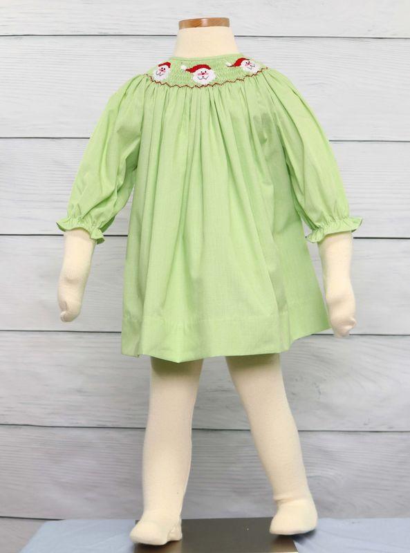 Christmas Dress.Infant Smocked Christmas Dresses Smocked Dresses Smock Dress 412573 Cc155
