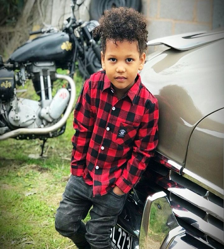 0771e855e Boys Lumberjack Brushed Flannel Kids Check Shirt - Red/Black - Cross RodAce  - Hotrod & Motorcycle Lifestyle Apparel