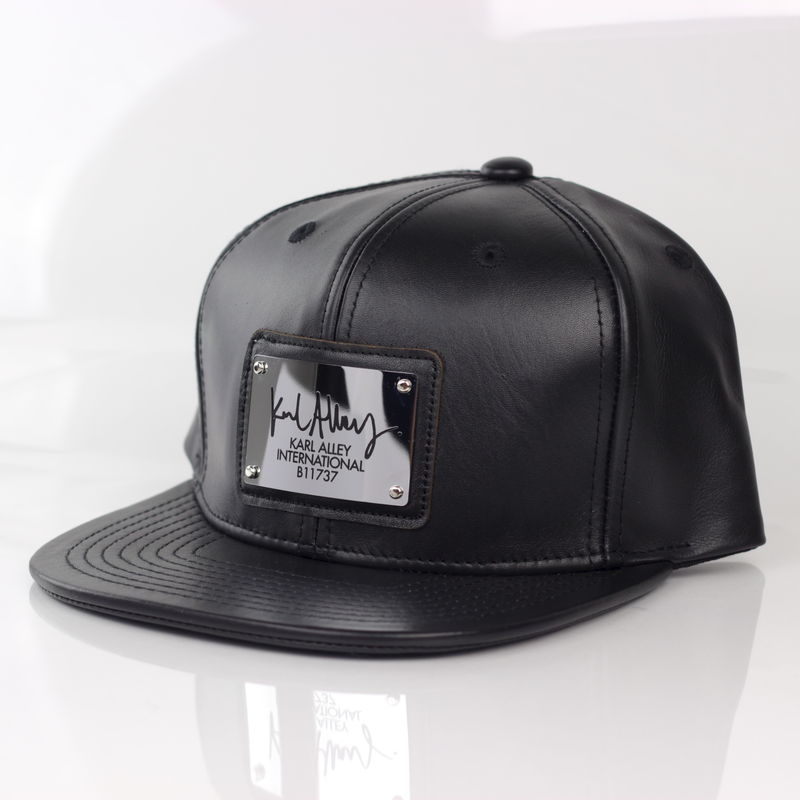 Karl Alley Signature Snapback (Leather - Archive) - Karl Alley Original  Hardware 18999695ad85