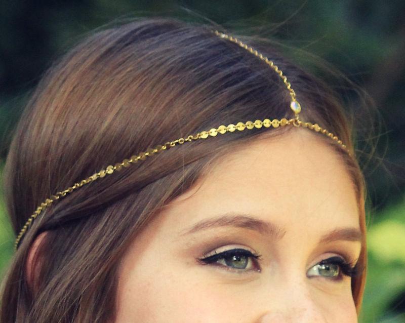 Chain Headpiece Head Chain Gypsy Headpiece Lovmely