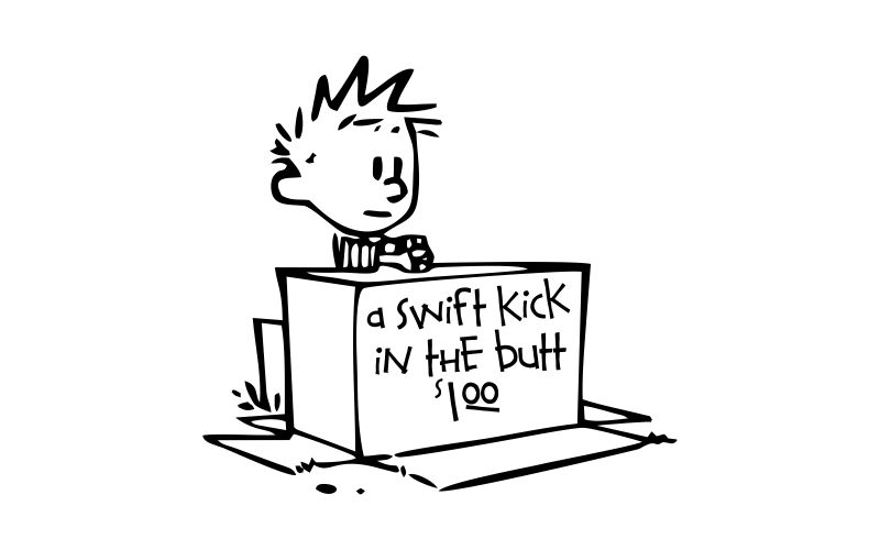 A Swift Kick In The Butt 107
