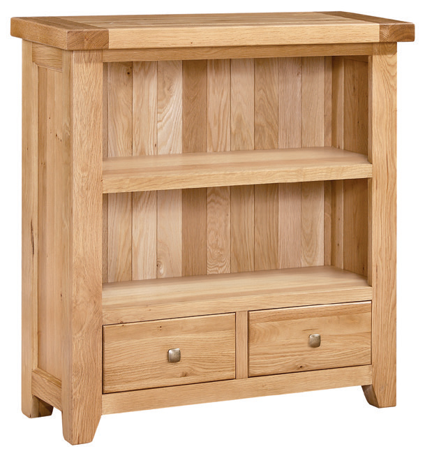 Bromham Oak Small Bookcase Product Images Of