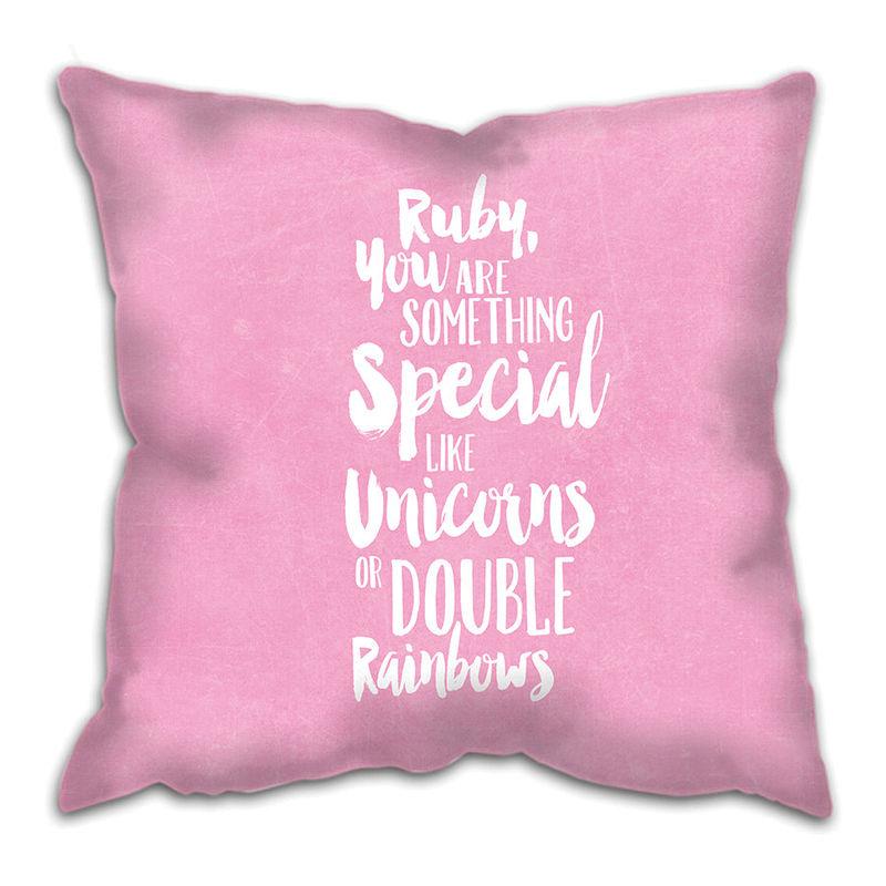 something special cushion custom girl baby girl gift gift for