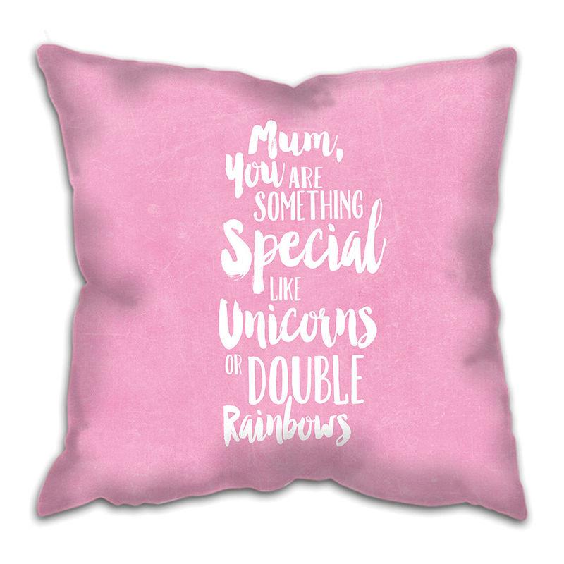 9ba07083ae54 Something Special Cushion - Custom Girl - Baby Girl Gift - Gift for Girl -  Girls Bedroom - Unicorns Cushion - Custom Cushion - Sweetlove Press ...