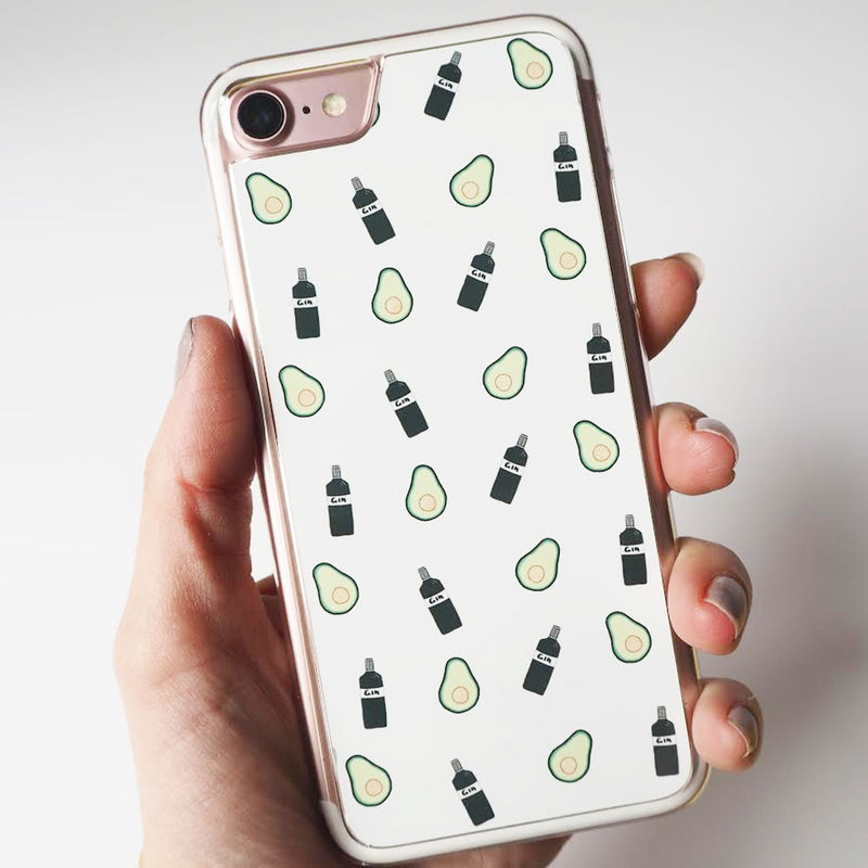 best website f2014 6642d Gin and Avocado iPhone 7 Case - iPhone 7 Case - Gin iPhone Case - Avocado  iPhone Case