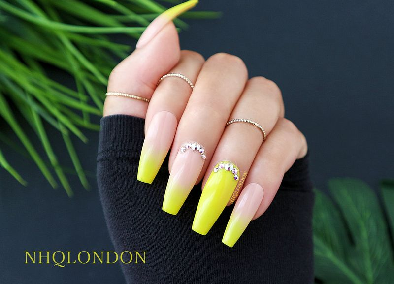 Press On Nails Coffin Shape Collection Nhq London