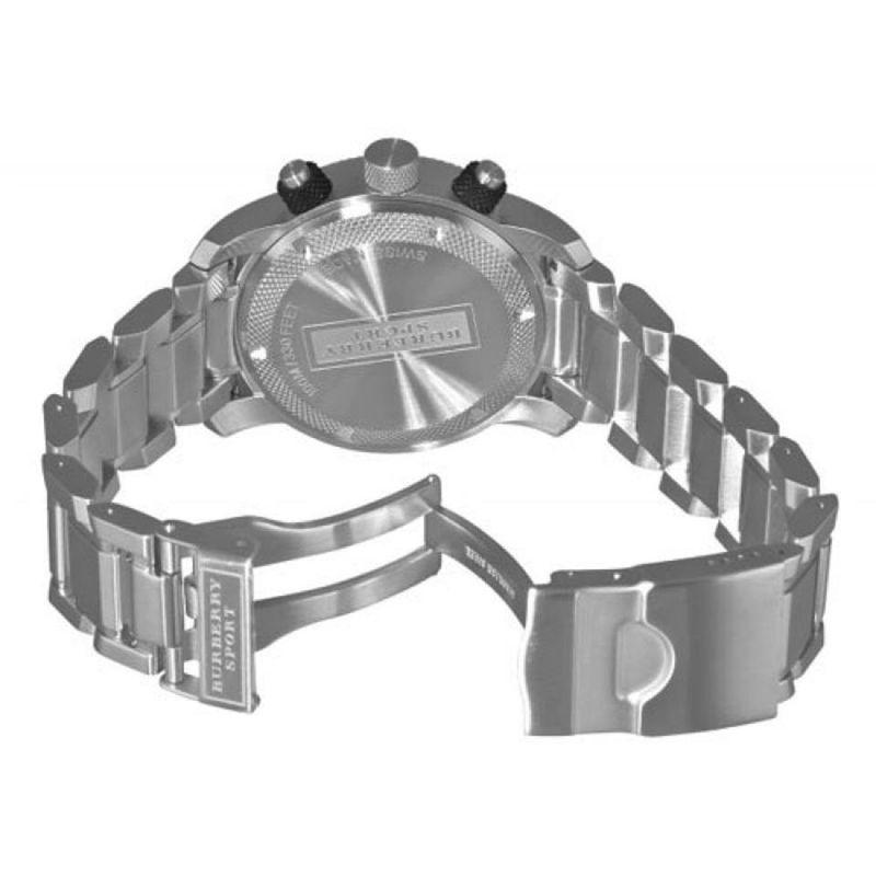 Burberry Stainless Steel Grey Watch BU7702