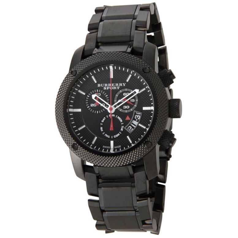 3d6616642ca Burberry Stainless Steel Black Watch BU7703 - product images of