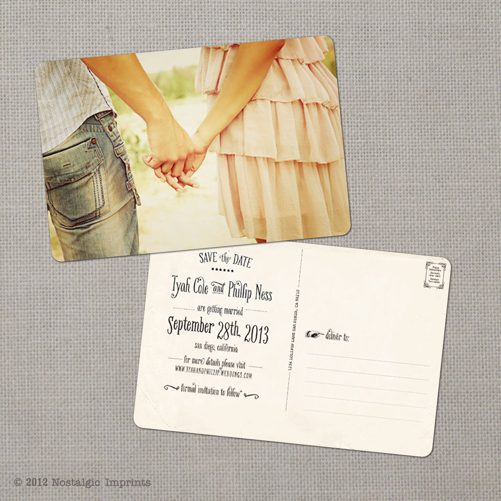 Shop Save The Date Postcards Magnetstreet