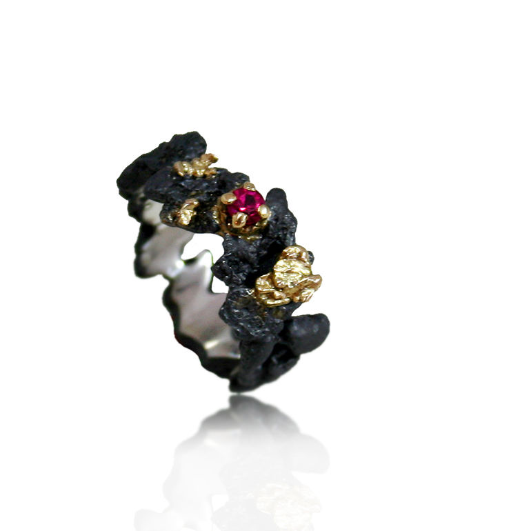 scoria ring karolina bik jewellery