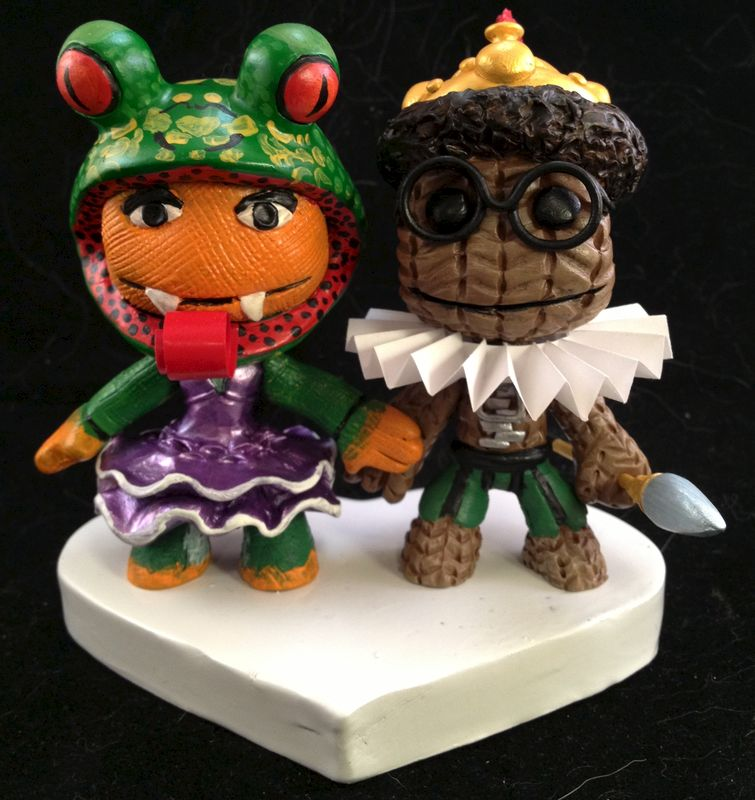 Little Big Planet 174 Cake Toppers Paul Pape Designs