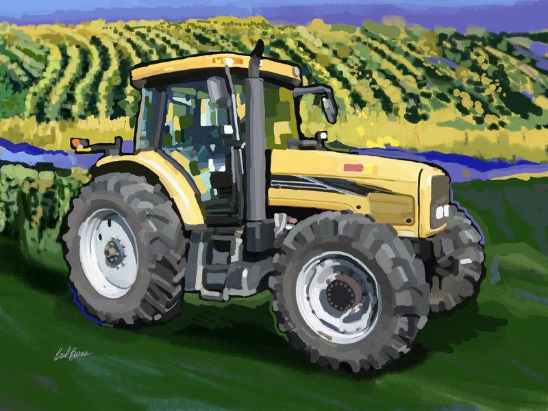 2004 Challenger Mt525b Farm Tractor Brad Burns