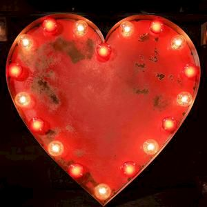 Love Heart Light The Vintage Industrial