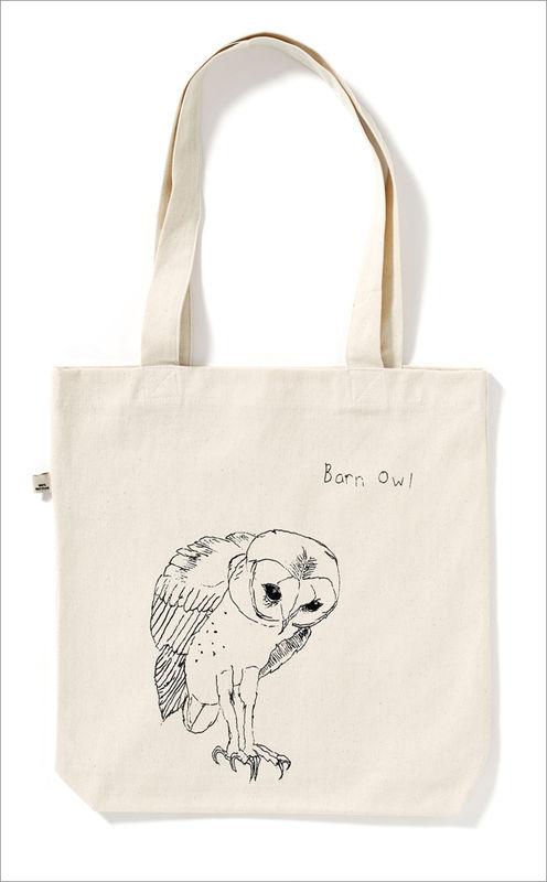 The Barn Owl Tote Bag