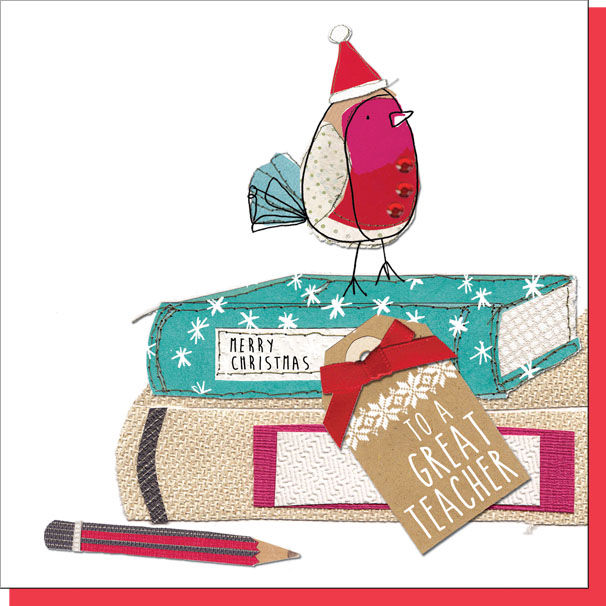 Christmas Cards For Teachers.To A Great Teacher Christmas Card