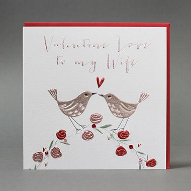 Handmade Valentine Love To My Wife Valentine S Day Card