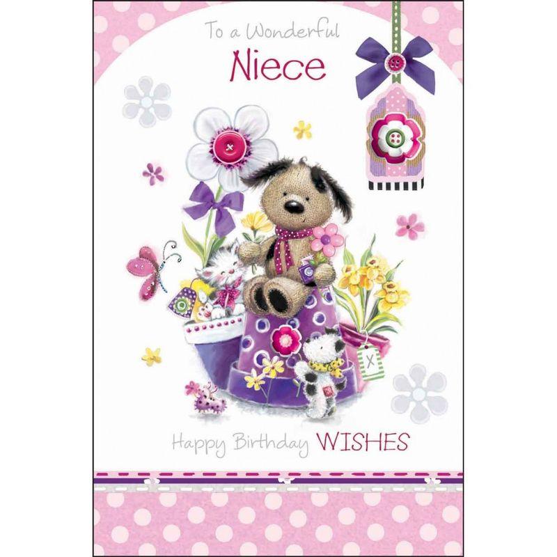 To A Wonderful Niece Birthday Card
