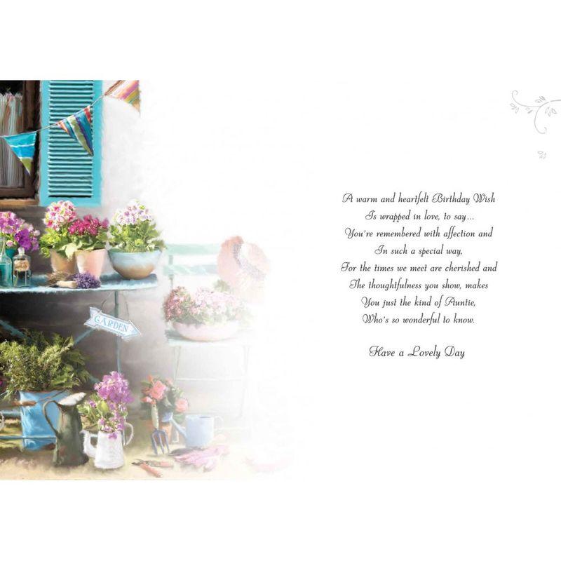 Special Auntie Birthday Card